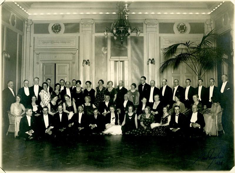 Släktmöte Härnösand 1932