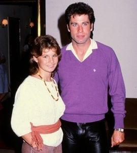 1983 var Carolas stora genombrottsår, här tillsammans med John Travolta.