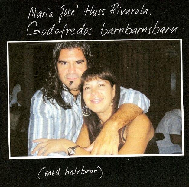 Mannen på bilden är Maria Josés bror, Luis Mariano Huss Rivarola.
